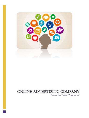 Advertising Business Plan Template, Agency and Online
