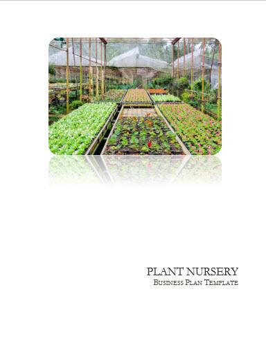 Plants Nursery Business Plan Template